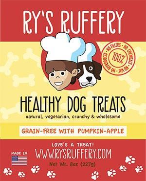 Ry's Ruffery Healthy Dog Treats